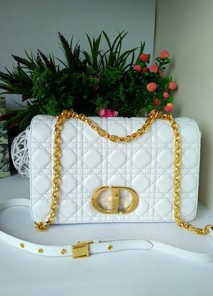 Брендовая сумочка белая
