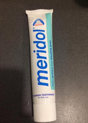 Лечебная зубная паста meridol