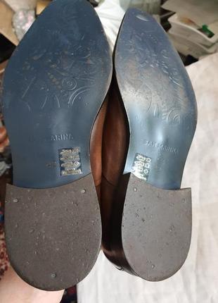 Португальские туфли san marina 42 р. натуральная кожа5 фото
