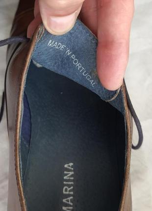 Португальские туфли san marina 42 р. натуральная кожа10 фото