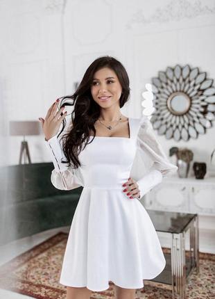 Женское короткое свадебное платье,выпускное платье,милое платье