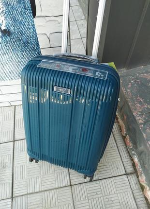 Ручная кладь,маленький чемодан,премиум качество айртекс