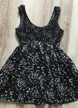 Платье h&m размер м хлопок