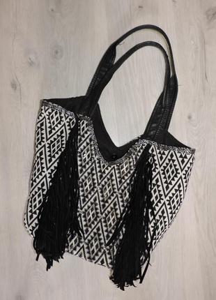 Сумка, сумка шопер, летняя сумка