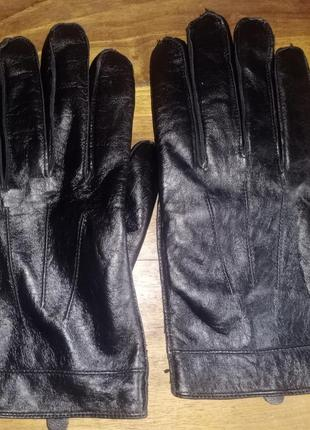 Кожаные перчатки george