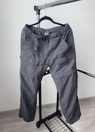 Тактические штаны трансформеры шорты the north face трекинговые карго аутдор