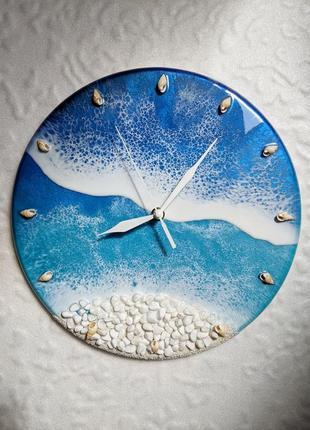 Интерьерные часы из эпоксидной смолы