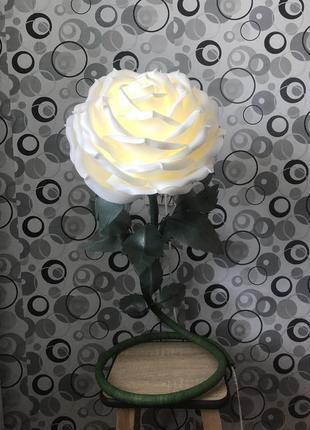 Светильник роза.