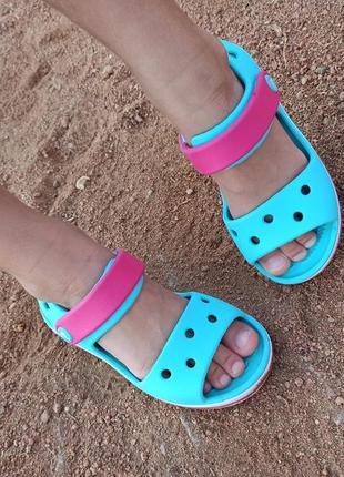 Сандалии crocs crocband