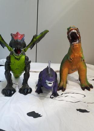 Динозавры роботы