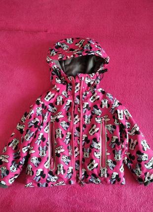 Для дівчинки лижна куртка.