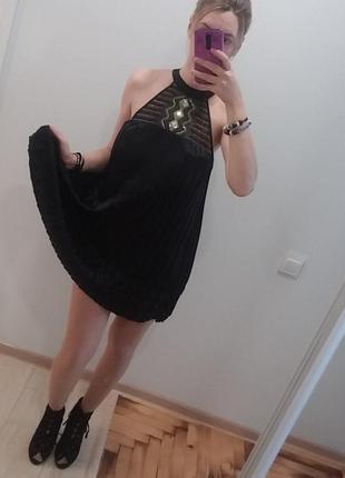 Платье трапеция коктейльное вечернее нарядное