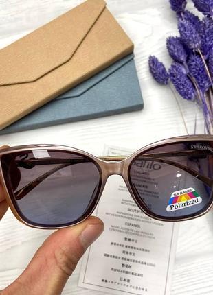 Солнцезащитные очки в стиле swarovski линзы полароид