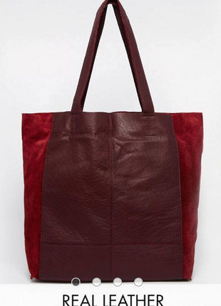 Кожаная сумка-шоппер от warehouse.