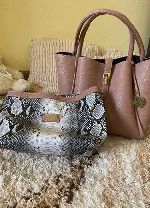 Женская сумка вместительная сумка