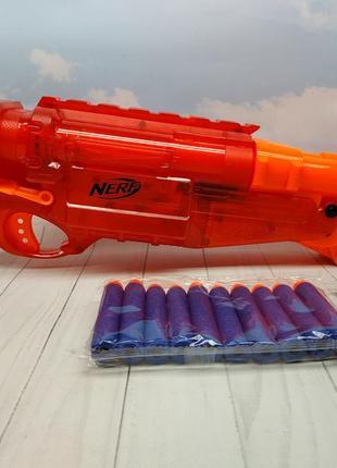 Nerf barrel break 1 x-2 hasbro оригинал нерф нёрф оружие ружьё игрушки для мальчика