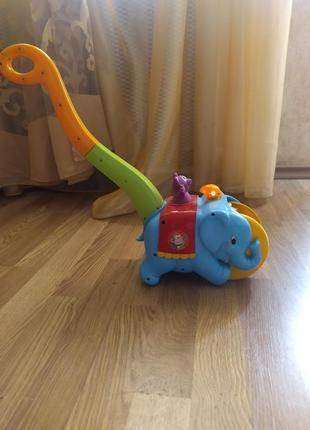 Каталка слон -цыркач