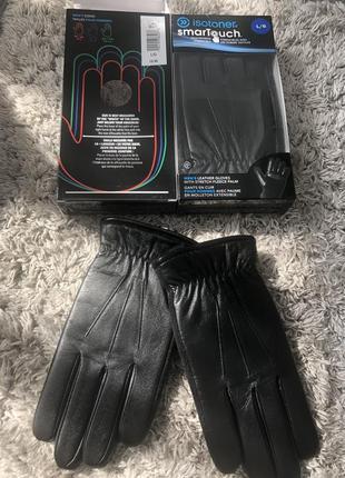 Мужские перчатки isotoner(канада), размер l