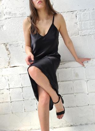Красивое платье комбинация