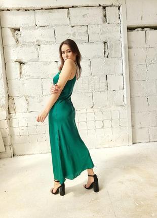 Нежное платье комбинация