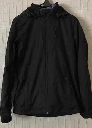 Куртка 3в1 kappa + флисовая кофта ветровка,осень, весна s-m