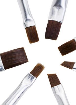 Набор кистей для геля, гель-лака и дизайна ногтей   7 шт.4 фото