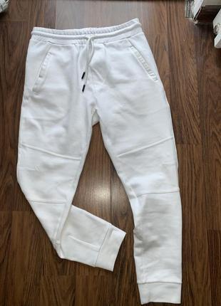 Білі спортивні штани zara!