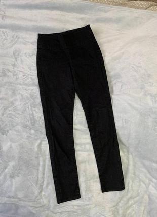 Брючные штаны с замочком ссади