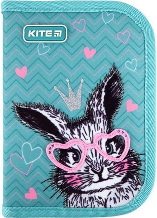 Пенал kite cute bunny k21-621-1