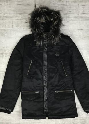 Чёрная парка the kooples мужская куртка оригинал купить украина