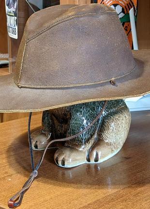 Кожаная ковбойская шляпа australia