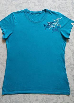 Женская футболка arc'teryx 100% хлопок