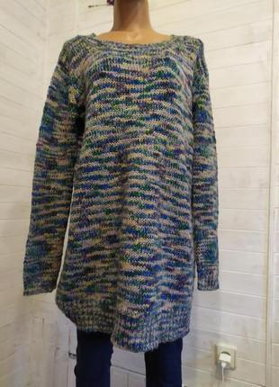 Классный мягенький мелажевый свитер8 фото