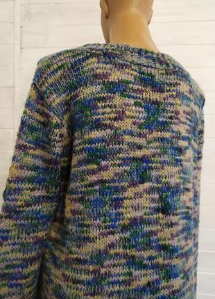 Классный мягенький мелажевый свитер7 фото