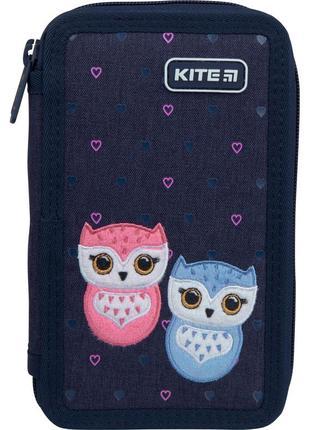 Пенал kite  lovely owls k21-623-1