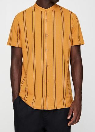 Рубашка pull&bear с коротким рукавом