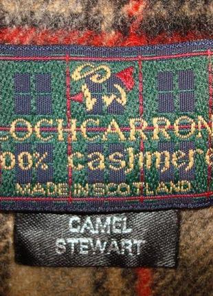 💨❄lochcarron of scotland 100% кашемир шикарный шарф в клетку мужской  💨❄6 фото