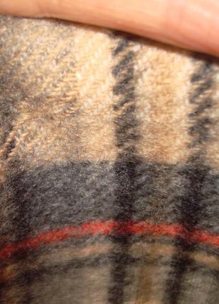💨❄lochcarron of scotland 100% кашемир шикарный шарф в клетку мужской  💨❄9 фото