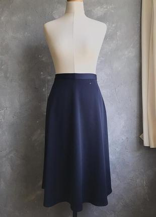 Миди юбка в бельевом стиле