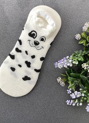 Короткие носочки с мордочками и ушками