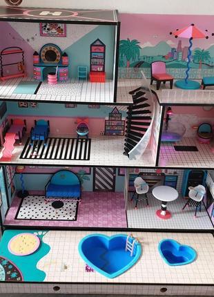 Будиночок для ляльок лол (дом кукол l o l lol) самовивіз житомир