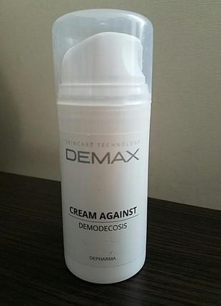 Demax cream for demodicosis распродажа! срочно