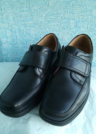 Мужские туфли clarks демисезонные деми