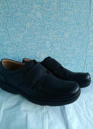 Мужские туфли clarks демисезонные деми4 фото
