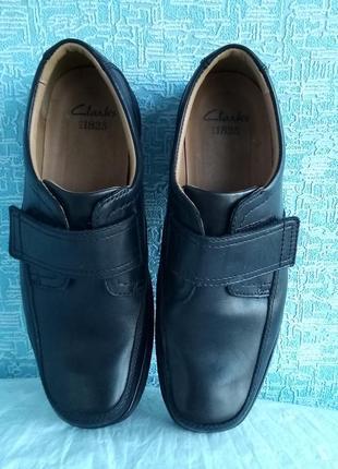 Мужские туфли clarks демисезонные деми5 фото