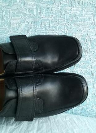 Мужские туфли clarks демисезонные деми9 фото