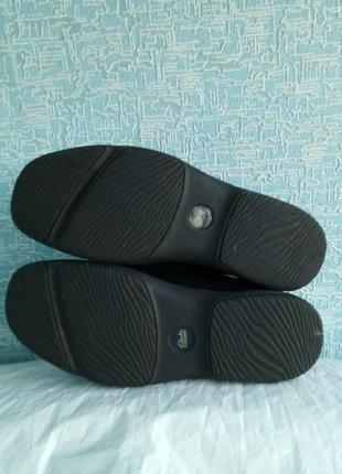 Мужские туфли clarks демисезонные деми7 фото