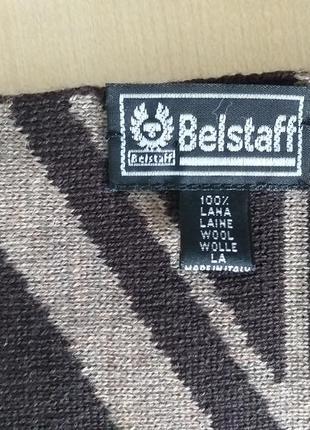 Belstaff   двухсторонний шерстяной шарф