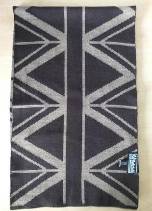 Belstaff   двухсторонний шерстяной шарф2 фото