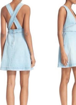 Stella mccartney сарафан платье джинсовое италия оригинал
